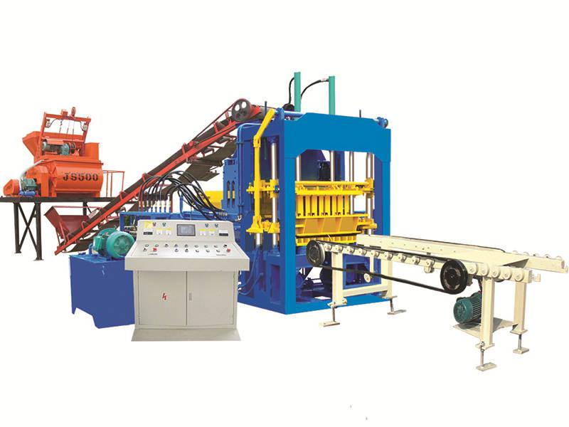 QT4-15D sand lime brick machine