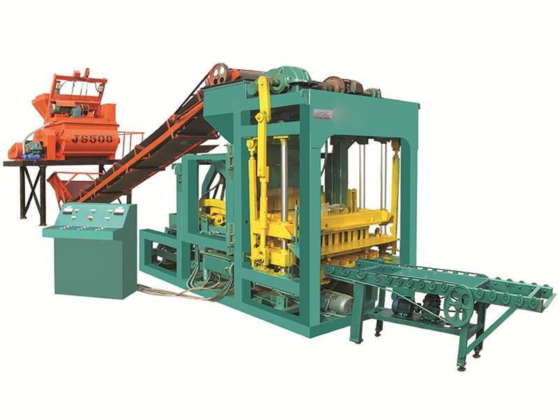 QTJ4-25 cement sand brick making machine