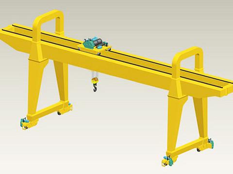 30 ton gantry crane structure and electric hoist sales