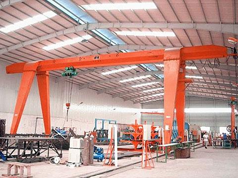 30 ton single girder gantry crane sales