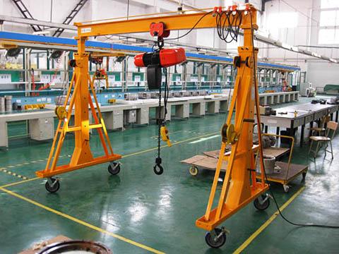 portable workshop gantry crane sales