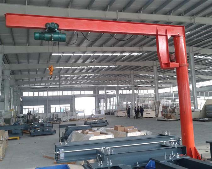 Jib Crane With Electric Hoist