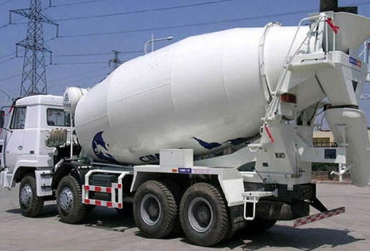 Cement and Concrete Mixer Mixer Truck