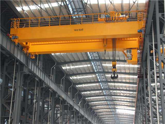 Double girder overhead crane 50 tons for sale