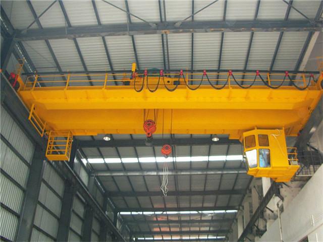 Order double-girder overhead crane 50t