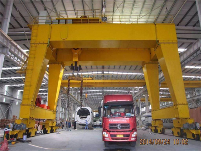 Quality 50 t double girder gantry crane