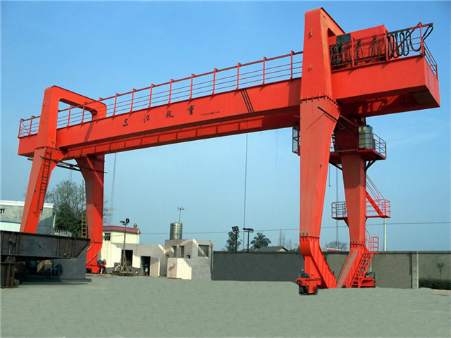 Price 50 tons double girder gantry crane